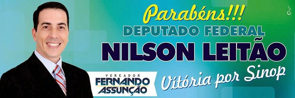 """Fernando Assunção Vereador de SINOP"""""""