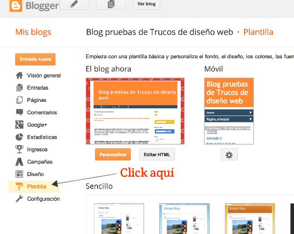 Como hacer copias de seguridad en blogger paso 1