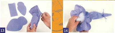 como hacer muñecas de tela
