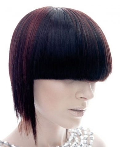 Chic Edgy Hair Highlights 2014