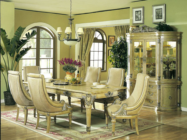 Formal dining room furniture furniture for Elegant dining room furniture