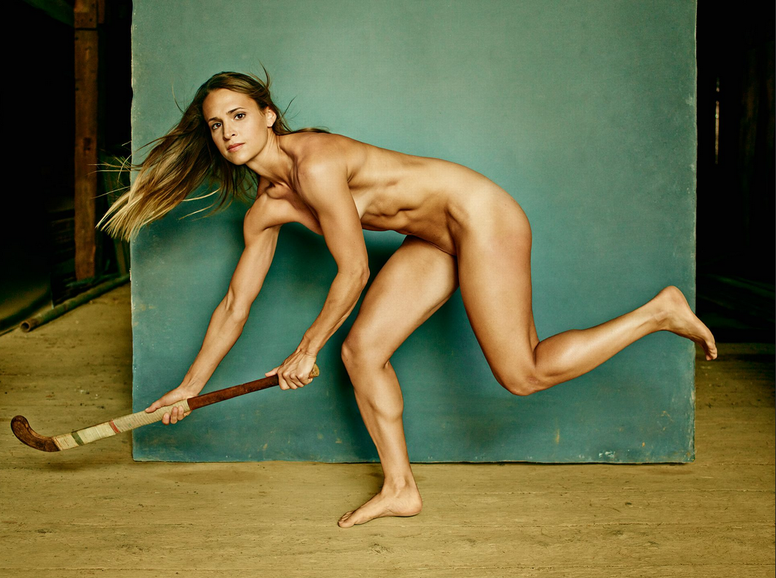 Hot Nude Female Athlete 6