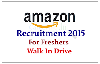 Amazon Recruitment 2015 for Freshers Walk in Drive on 08th June to 30th June 2015