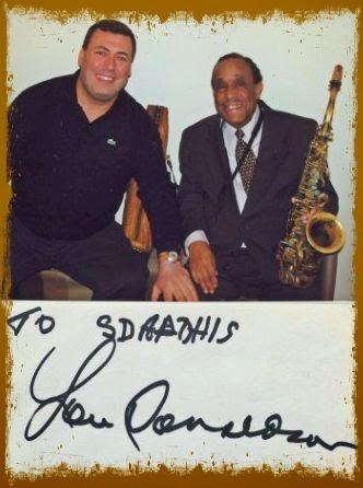 Ο μεγάλος της jazz  Lou Donaldson  :