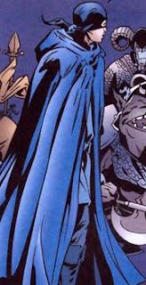 Cena do Garoto Azul, na história em quadrinhos Fábulas