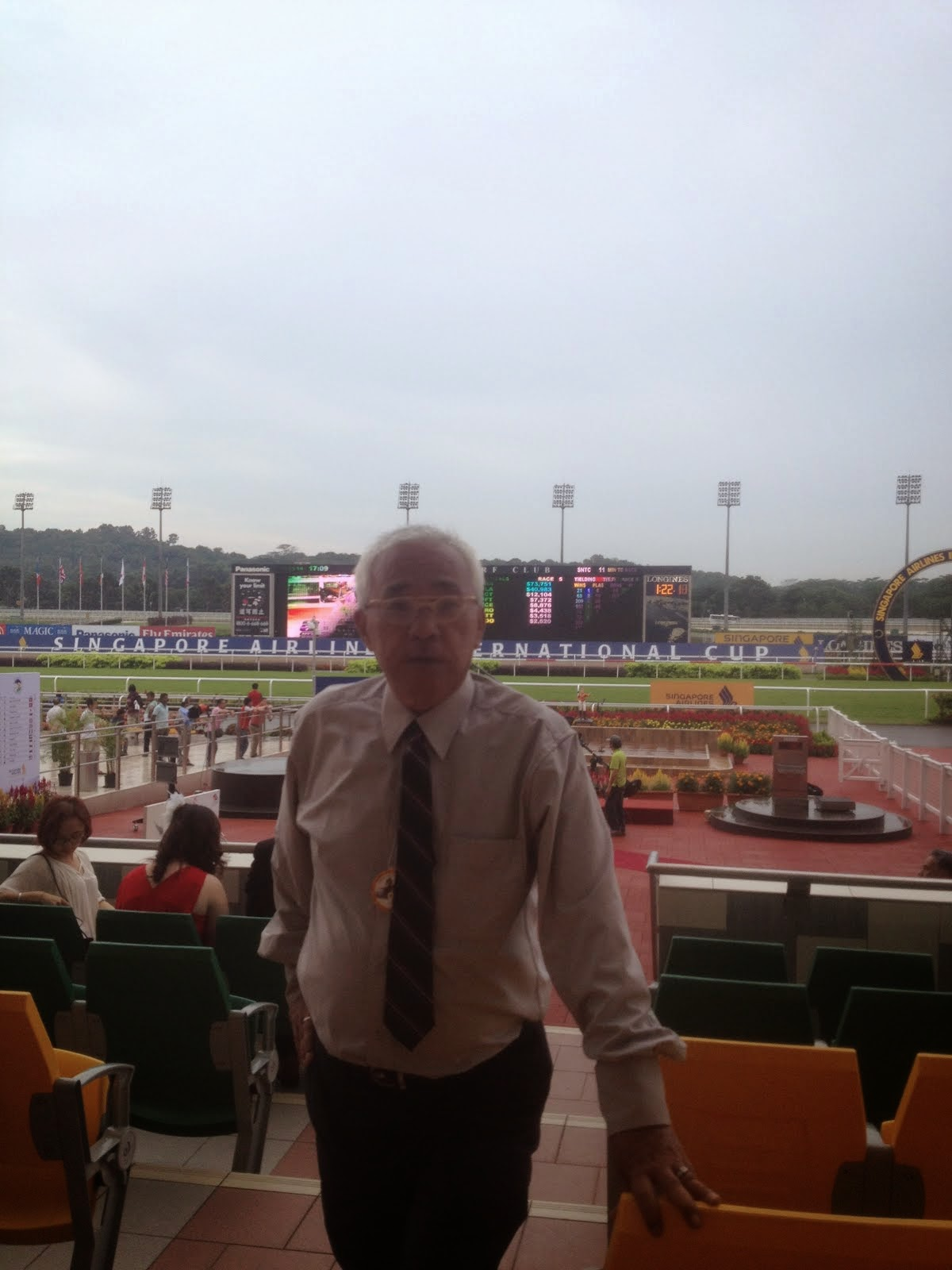 ,happy time once again ,SINGAPORE AIRLINES INTERNATIONAL CUP 2014