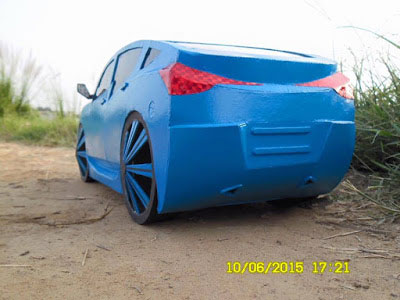 Check Out Cars Modelled By This Talented Handsome Nigerian (Photos)