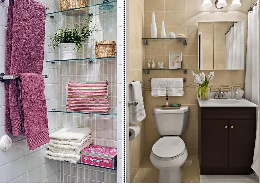 Banheiro pequeno, e agora?  Apê em Decoração -> Nichos Externos Banheiro