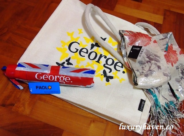 john little plaza singapura george umbrella bag