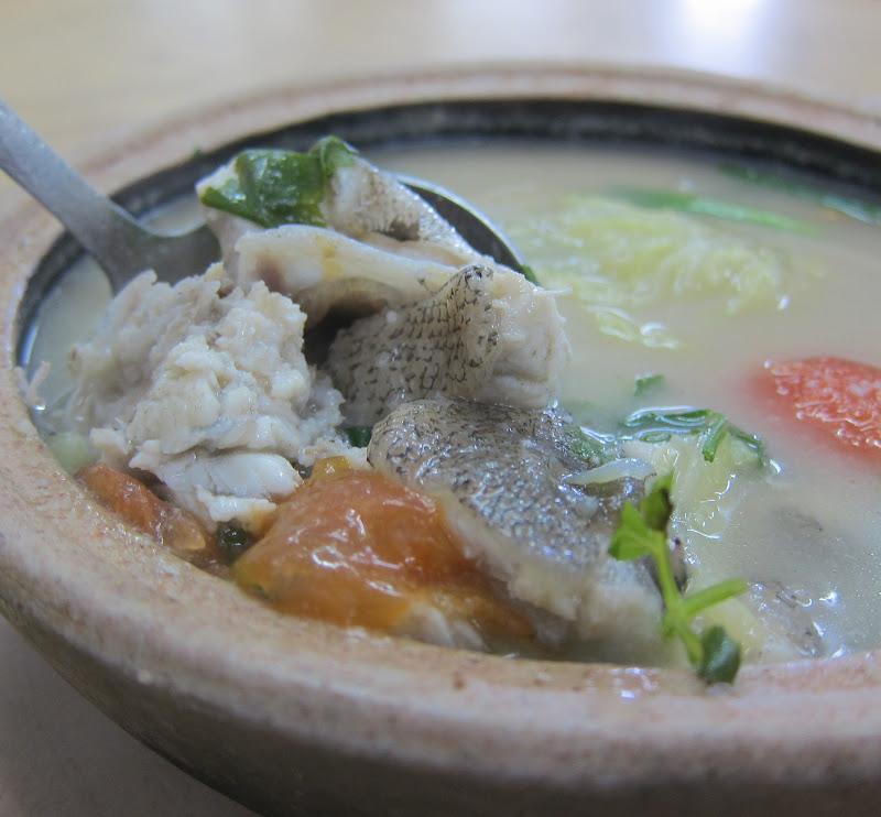 Fish head soup restoran onn kee jaya in tampoi johor for Fish head soup recipe