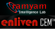 Ramyam Intelligence Lab Enliven CEM Logo