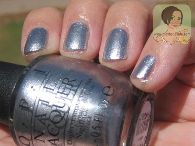 """OPI My Signature is """"DC"""""""