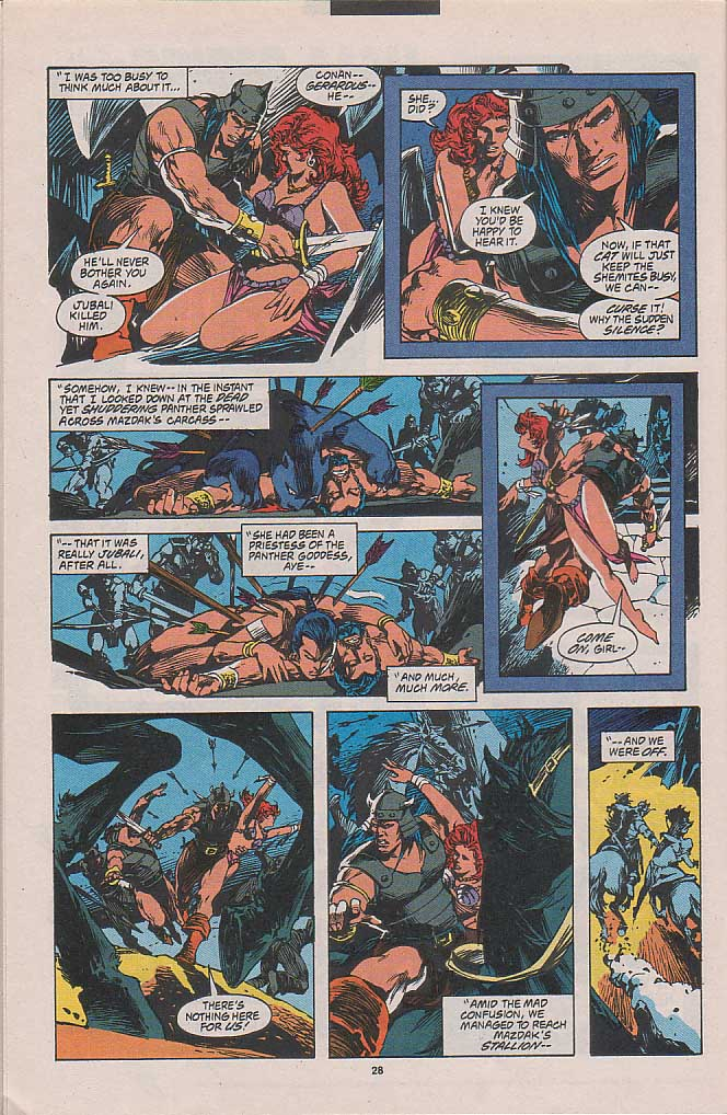 Conan the Barbarian (1970) Issue #262 #274 - English 20