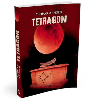 "Już dzisiaj! Premiera książki ""Tetragon"" Thomasa Arnolda!"