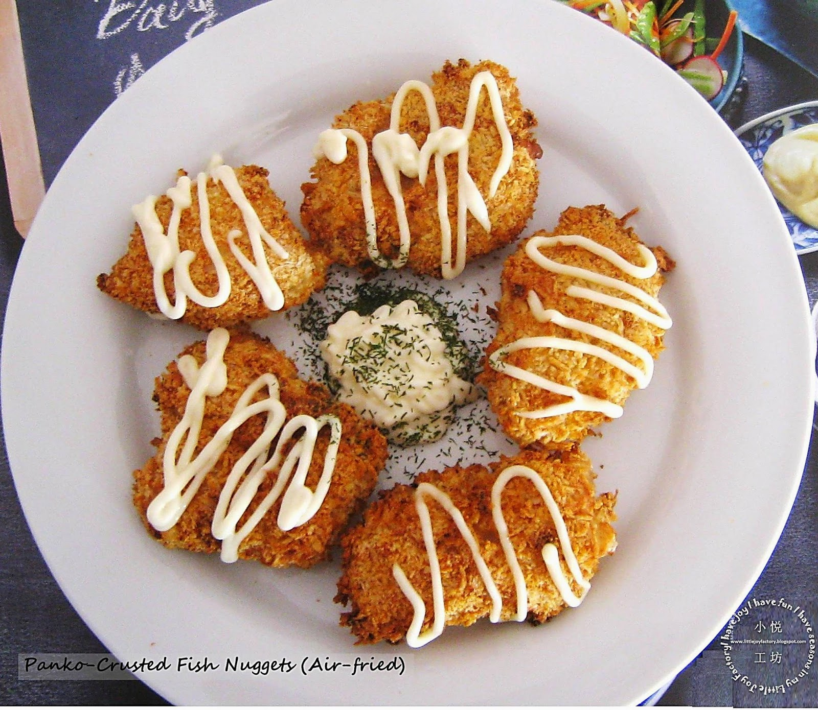 Little joy factory air fried panko crusted fish nuggets for Panko fried fish