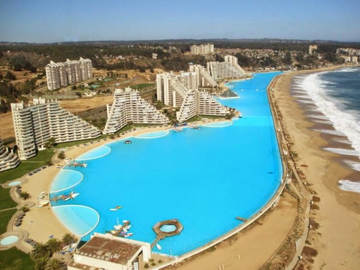 1. San Alfonso del Mar Resort, Algarrobo, Chile - Top 10 Marvelous Pools in the World