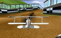 Corrida contra adversários no Jogos de Avião