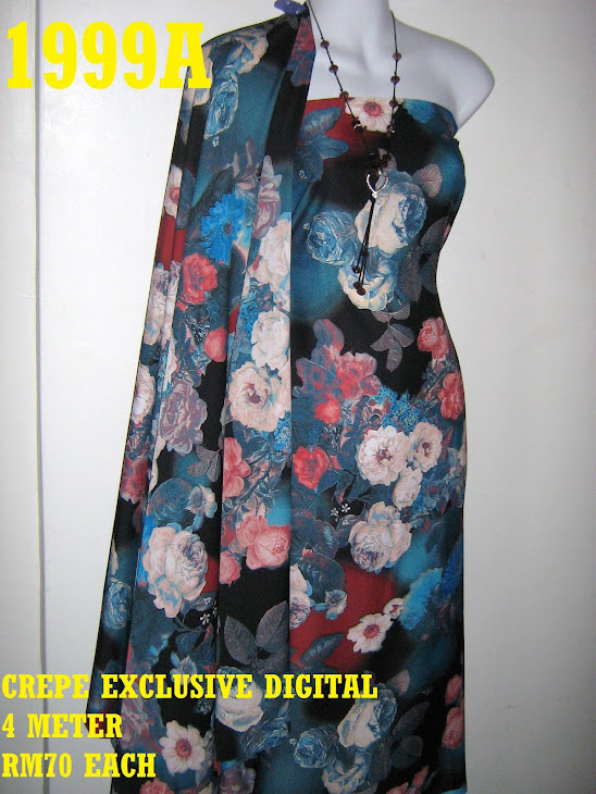 CP 1999A: CREPE EXCLUSIVE DIGITAL PRINTED, 4 METER