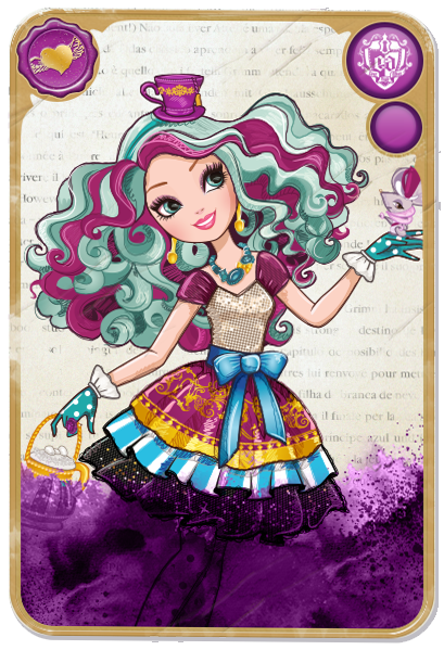 TOYS: Madeline Hatter : Ever After High | DOLL | MUÑECA - CARD / CARTA