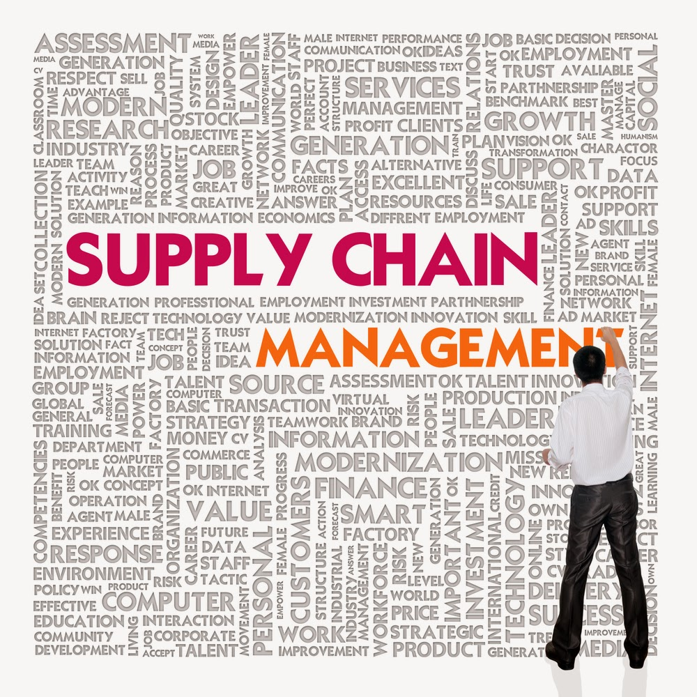 what is the supply chain management scm Supply chain integrated network consisting of an organization, its suppliers, transportation companies, and brokers used to deliver goods and services to customers process of working with suppliers and other partners in the supply chain helps with managing the communication by improving procedures for delivery products and services.