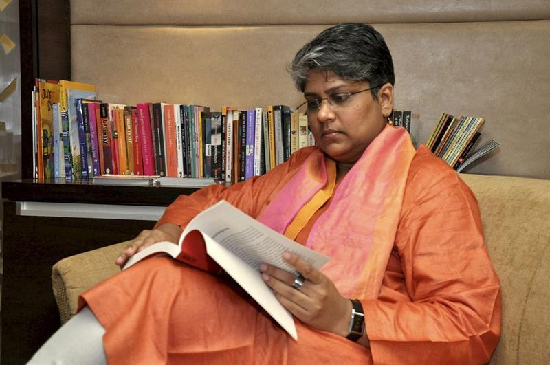 Shobhna S. Kumar, ativista da comunidade LGBT indiana (Foto: EFE)