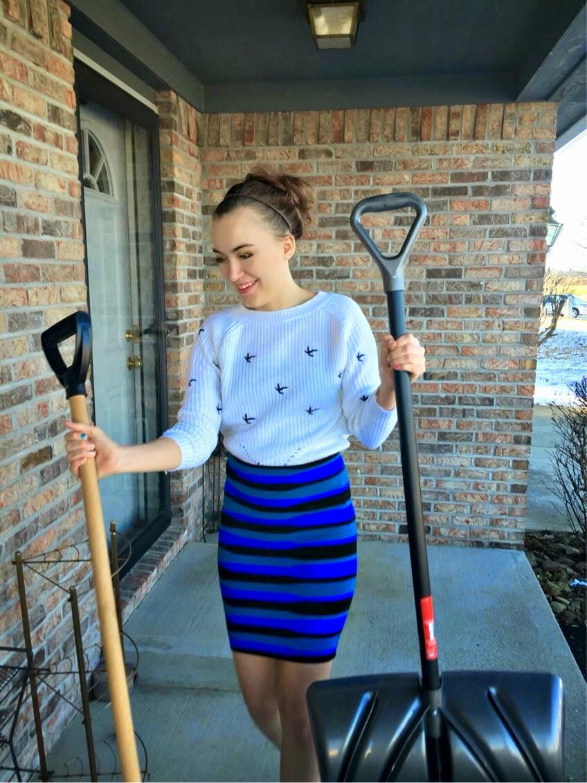 snow-shoveling-in-a-skirt