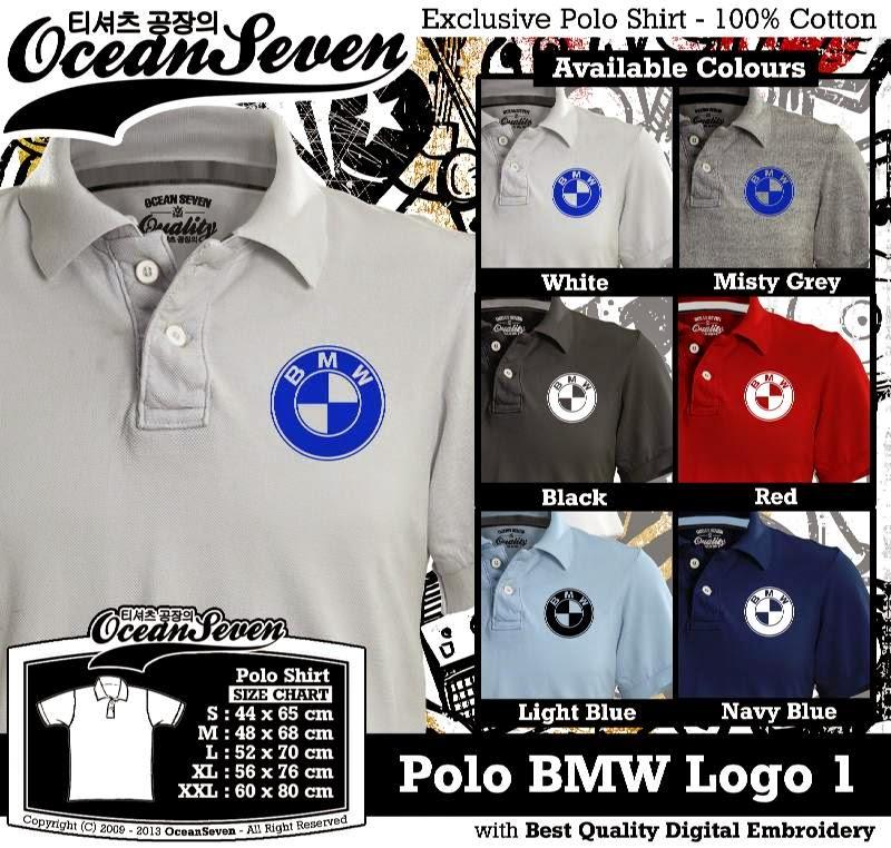 Kaos Polo BMW Logo 1