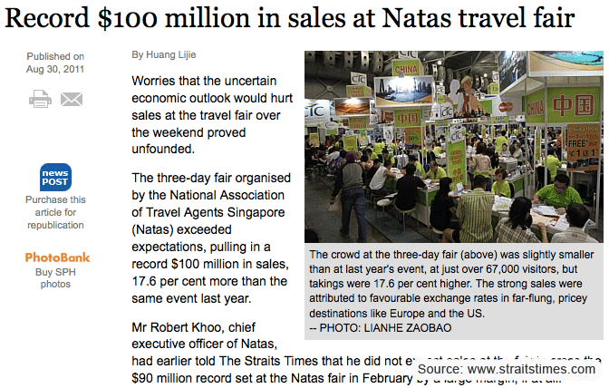Going Places Asia: When is the next Natas Fair?