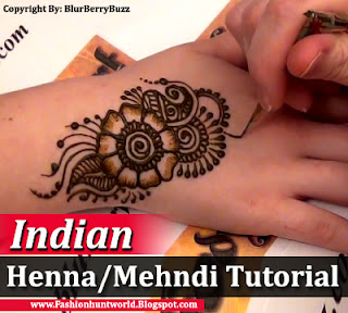 Best Indian Henna-Mehndi Designs Tutorial
