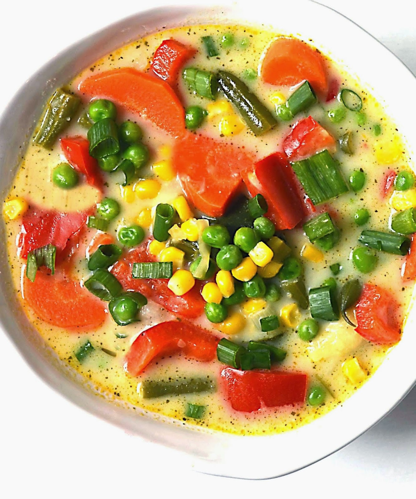 Thai Garden Vegetable Soup Recipe