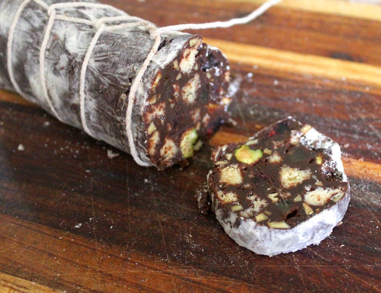 Рецепты с пошаговым фото шоколадной колбасы