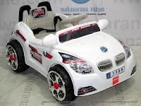 Mobil Mainan Aki Junior BMW Pro Racer White