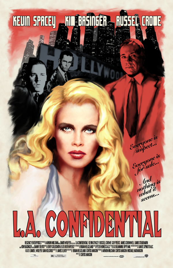 a comparison of la confidential and film noir Movie review: the girl on the train doesn't hit its film noir goal.