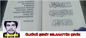 ÜLKÜCÜ ŞEHİT SELAHATTİN ÇEVİK (FACEBOOK PROFİL)