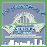 I'm presenting at NCCE in Portland!
