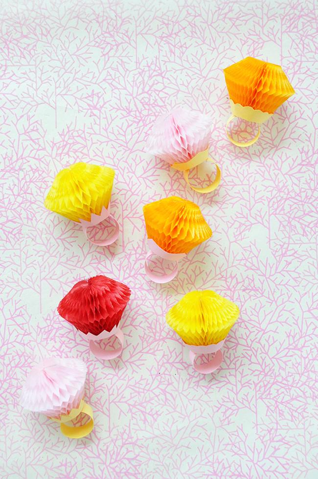 Honeycomb Rings