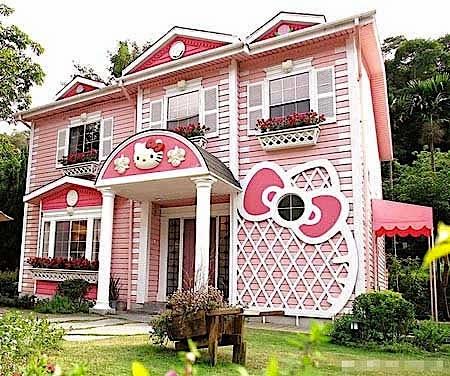 Rumah Minimalis Hello Kitty