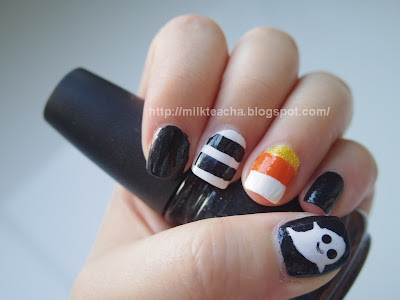 Happy Halloween Nail