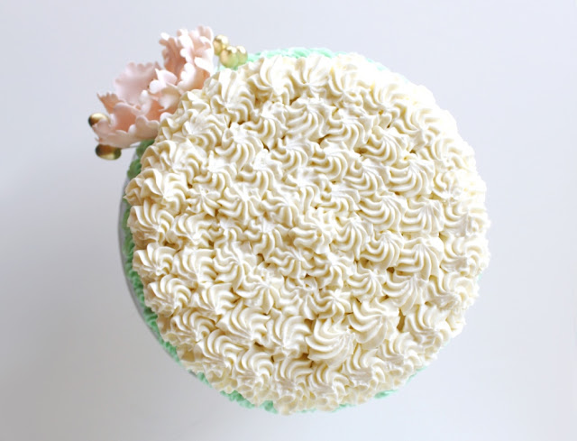 Rosette Style Cake Design