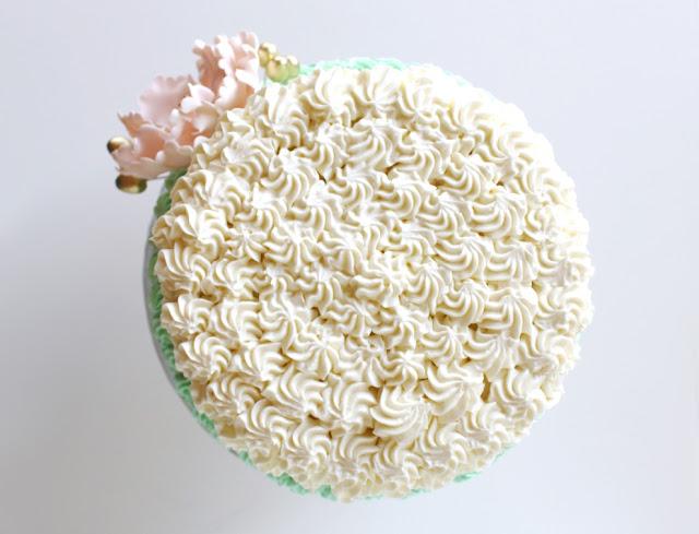 Rosette Style Cake Design