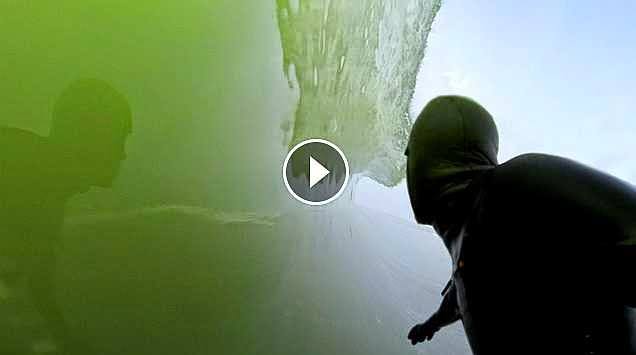 GoPro Ice Cold Barrels