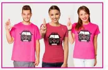 camiseta avon cáncer de mama