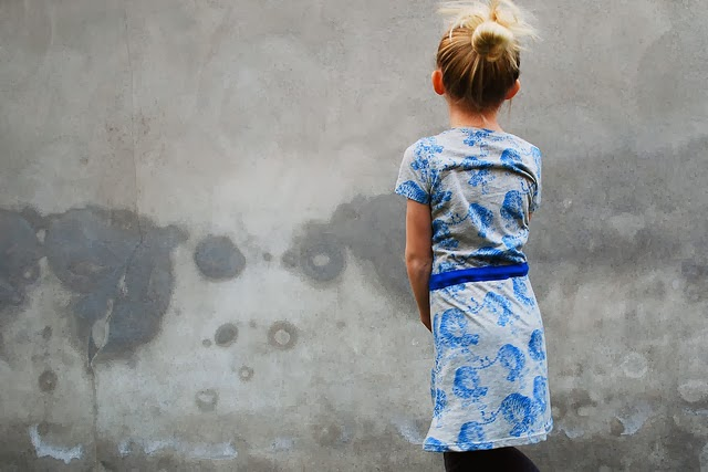 Gratis patroon jurk maat 116