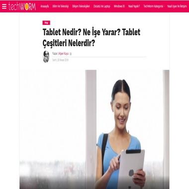 tech worm com - tablet nedir ne işe yarar
