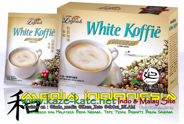 Citaten Koffie Haram : Awas ada hoax lagi tentang kode e pada produk white