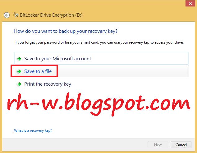 cara membuat password pada flashdisk tanpa software