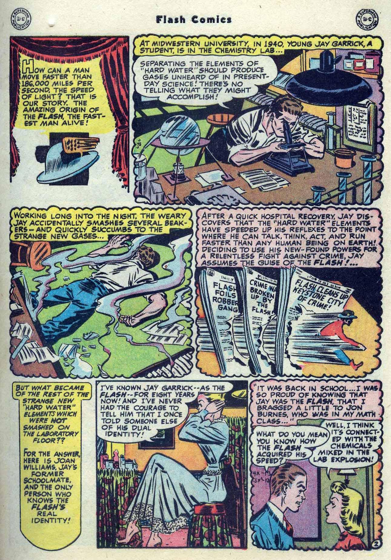 Flash Comics Issue #104 #104 - English 13