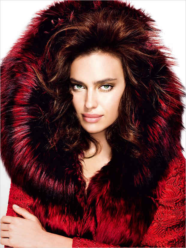 Irina Shayk covers Glamour Russia December 2014