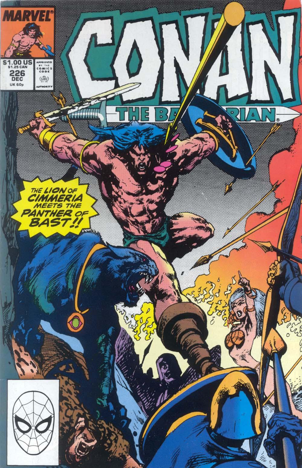 Conan the Barbarian (1970) Issue #226 #238 - English 1