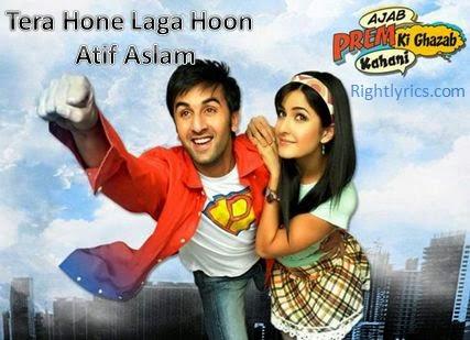 Tera Hone Laga Hoon Lyrics - Atif Aslam & Alisha Chinoy | APKGK
